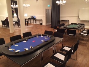 Pokerevent inkl. undervisning for medicinalvirksomhed på Kokkedal Slot